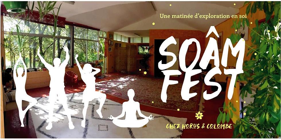 SoÂm Fest : Yoga Danse Mantras Sophrologie Voyage sonore Reiki