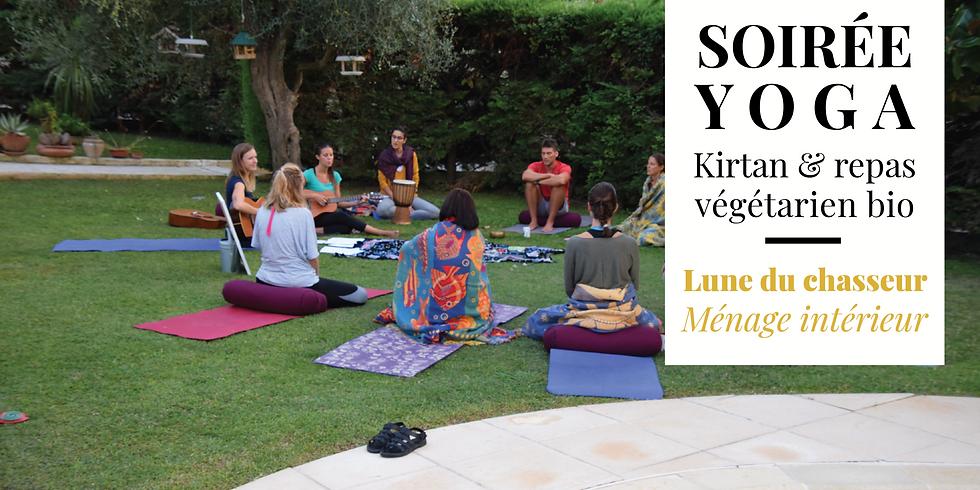 Yoga, Mantras et Repas végétarien