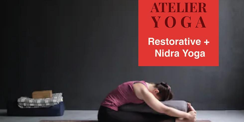 ☾☽ Atelier Restorative et Nidra Yoga ☾☽