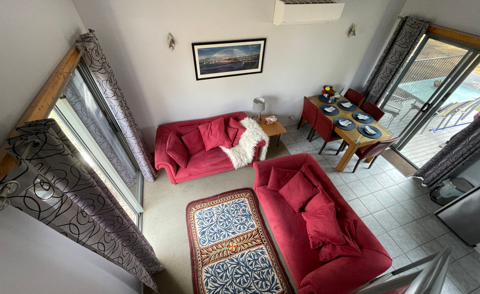 Living area in Family Chalet