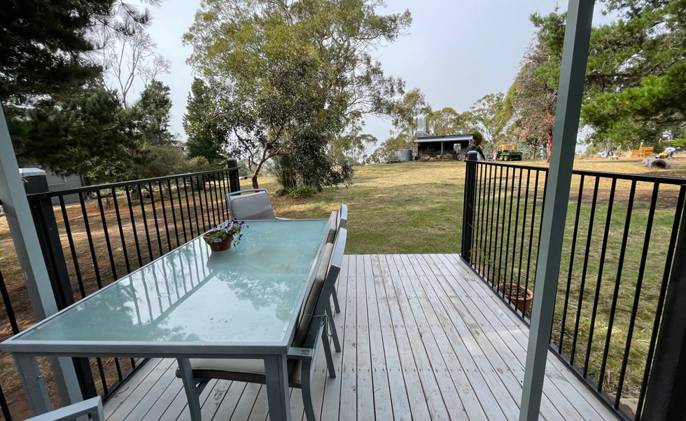 Family Chalet Deck