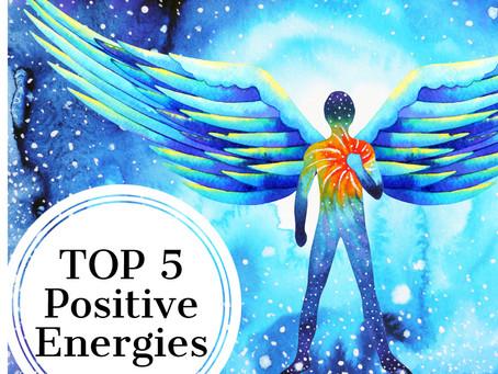 Top 5 - die fünf hilfreichsten Energien!