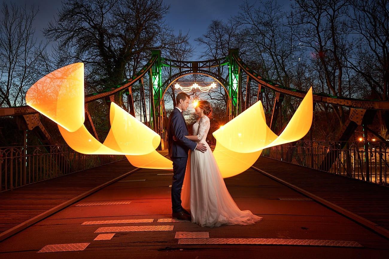 Lightpainting Herzensbilder Fotografie Halle Hochzeit