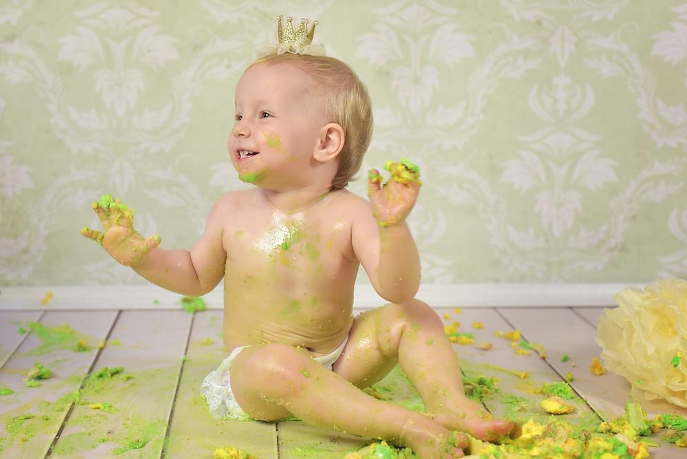 Kuchen Geburtstag Baby Cakesmash Halle Fotografie