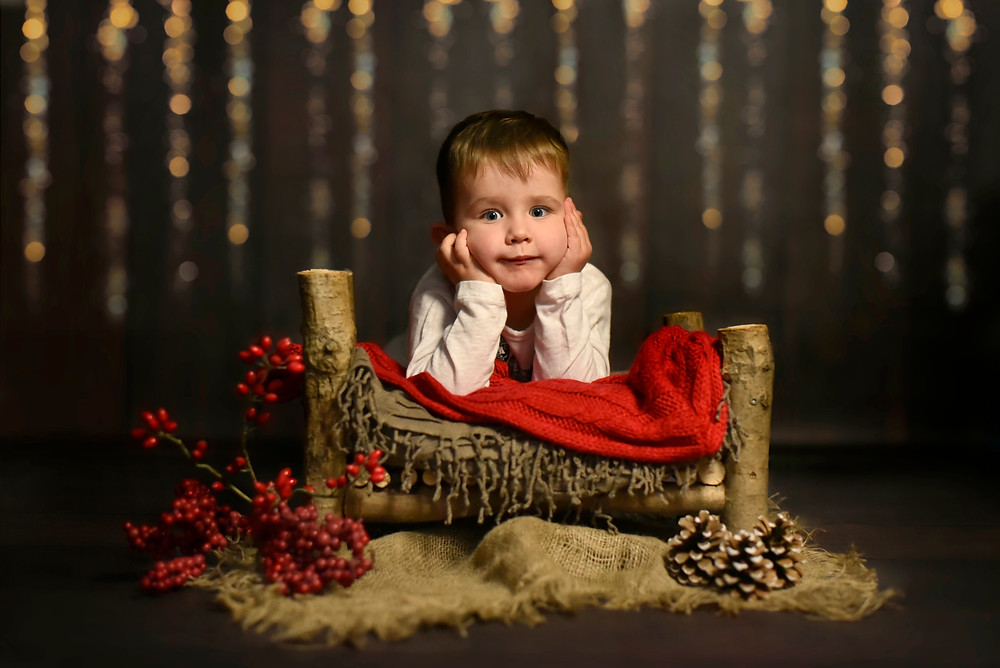 Weihnachten Halle Fotoshooting