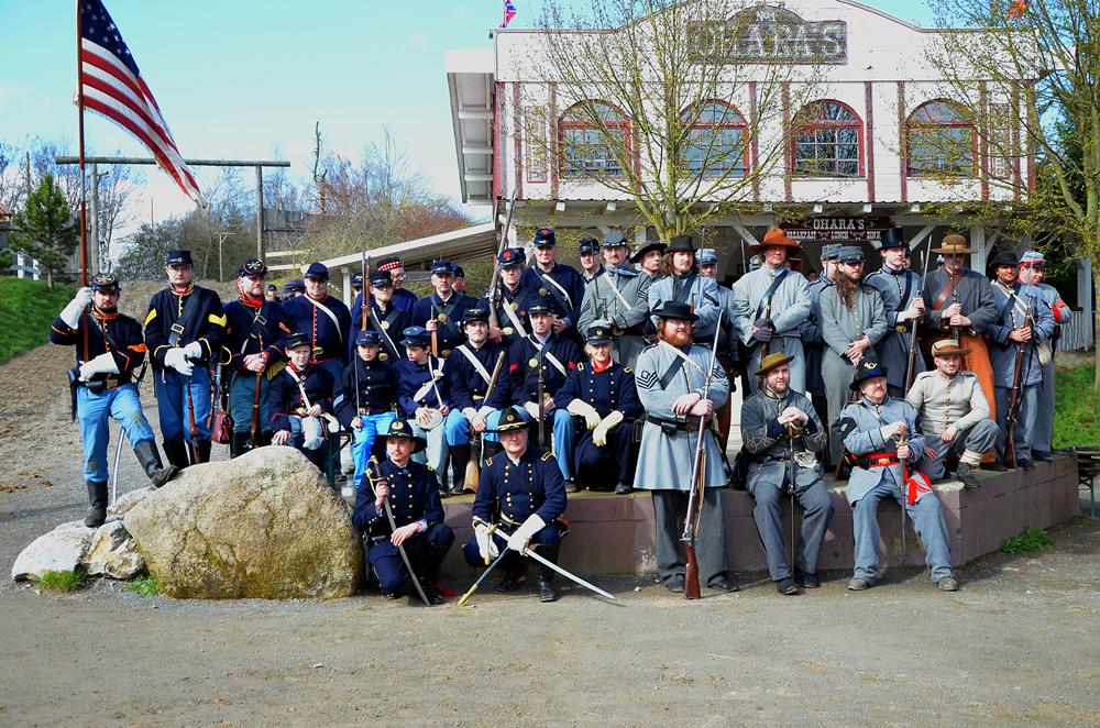 Pullman City Harz Hasselfelde Cowboys Westernstadt Civil War