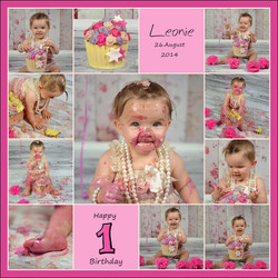 Cakesmash Halle Baby Geburtstag Foto