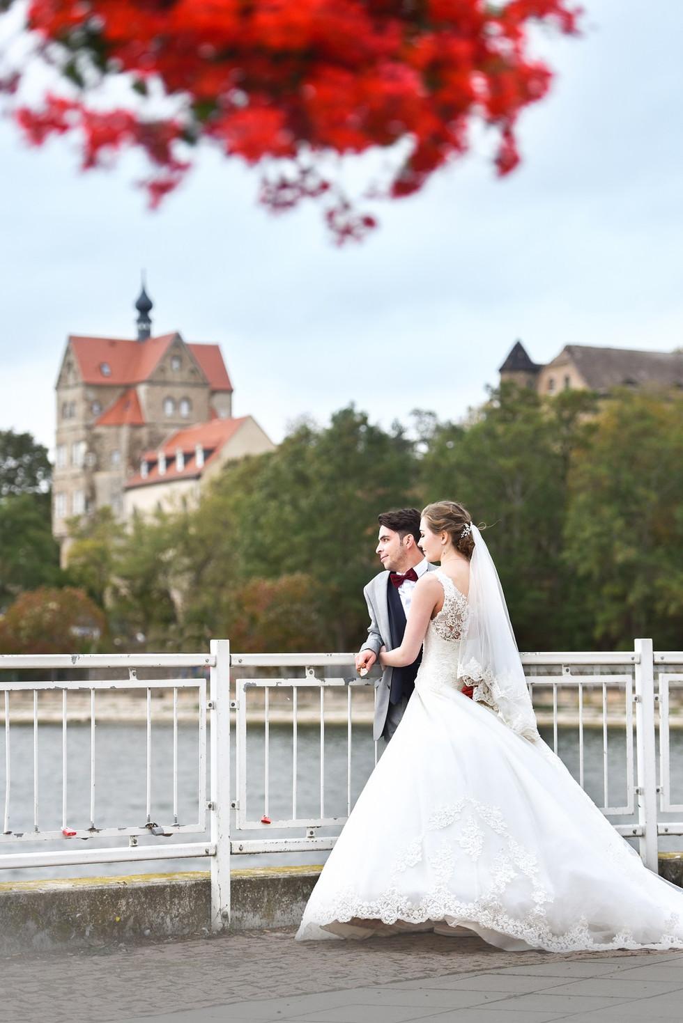 Herzensbilder Leipzig Hochzeit Foto