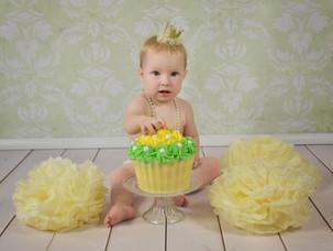 Tortenshooting mit der kleinen Lilli