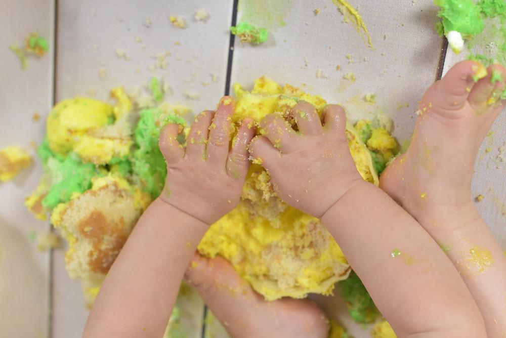 Kuchen Geburtstag Baby Cakesmash