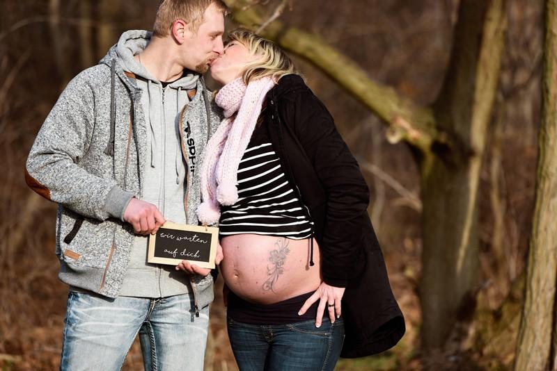 Babybauch Fotografie Halle schwanger Baby