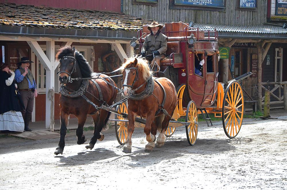 Pullman City Harz Hasselfelde Cowboys Westernstadt