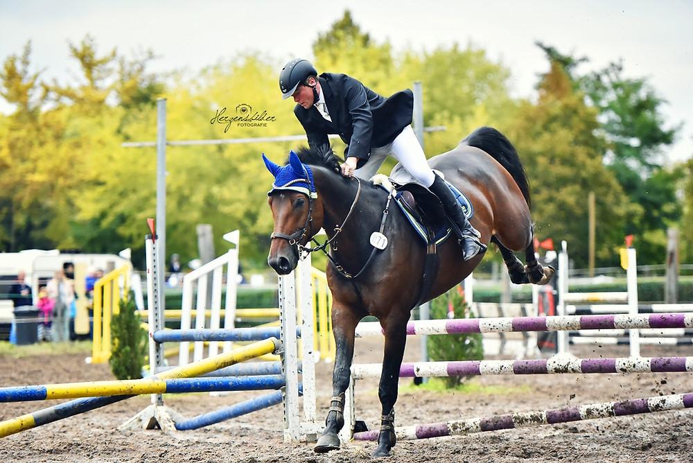 Pferdefotografie Halle Reiterhof Teicha Turnier
