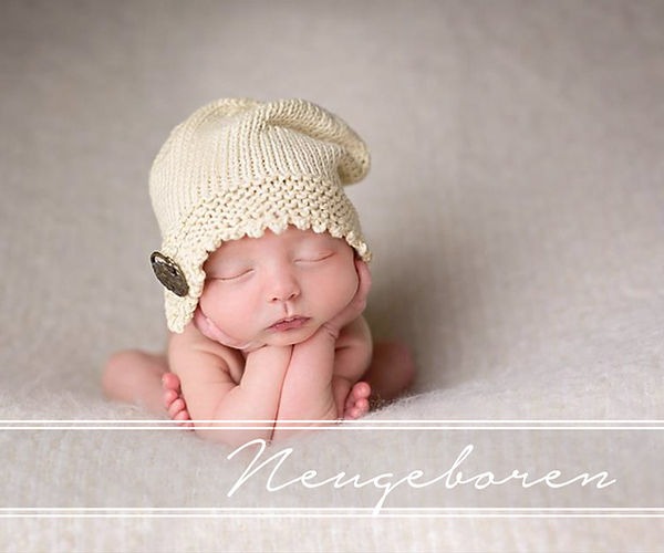 Neugeborenen Baby Fotografie Halle