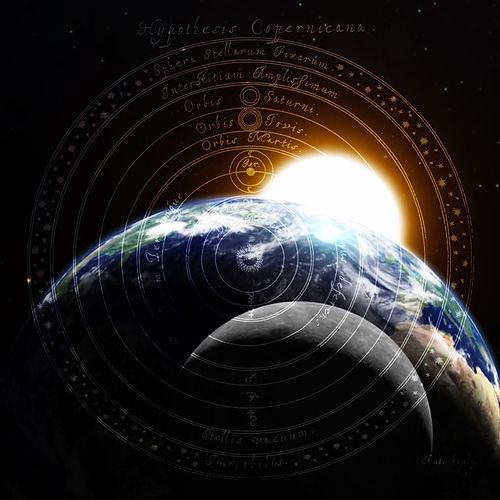 la-tierra-la-luna-y-el-sol heliocentro 1