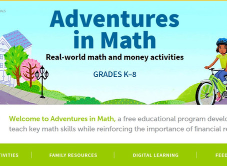 Math Lessons for the Kids and Financial Advice for You
