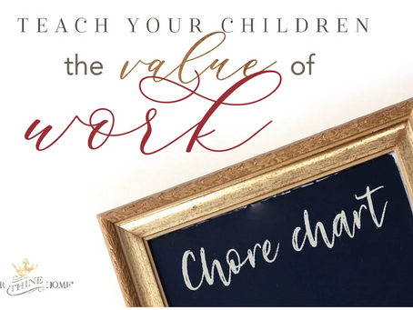 Teach Your Children the Value of Work
