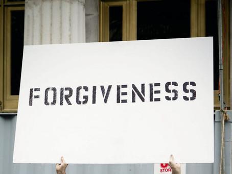 A Key to Peace:  Forgiveness