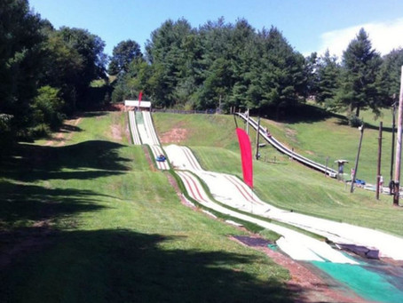 Downhill Tubing in the NC Mountains