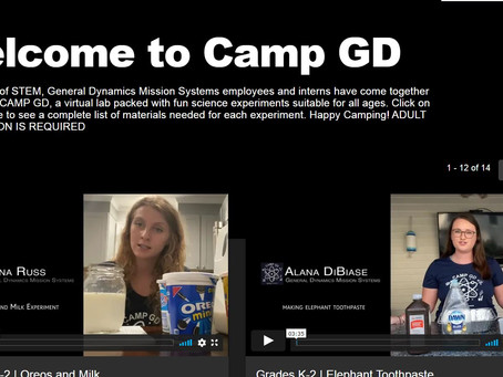 STEM Activities from General Dynamics