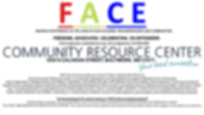 Face Community Resource Center Support A