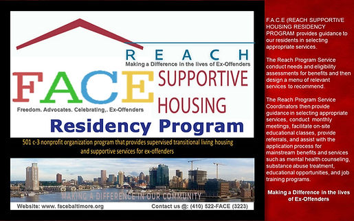 Face Reach Supportive Housing Residency