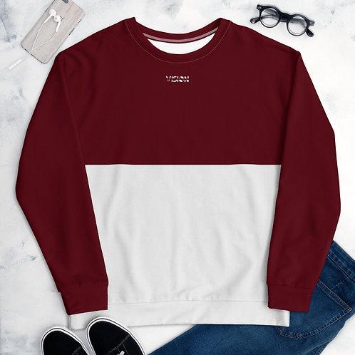 Men's/Women's Dark Red Sweatshirt