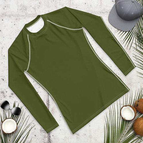Men's Military Green Compression Shirt