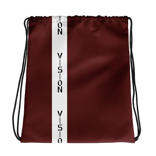 Vision Striped Drawstring bag