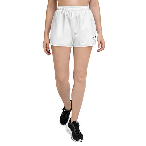 V Womans Shorts White