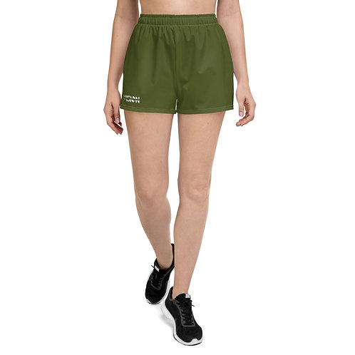 Women's Military Green Shorts
