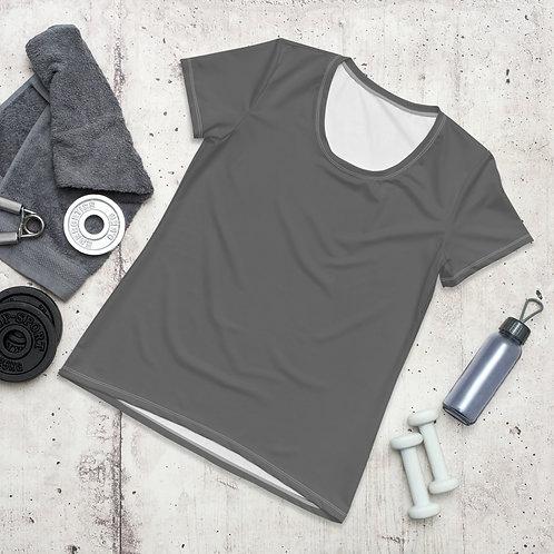 Women's Grey Moisture Wicking Shirt