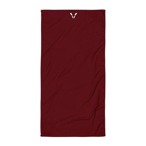 Dark Red Towel