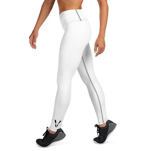 V Womans Leggings White