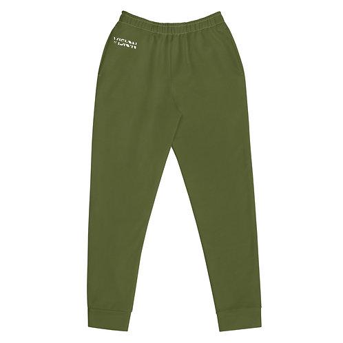 Women's Military Green Joggers