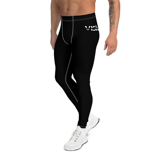 Vision Mens Leggings Black