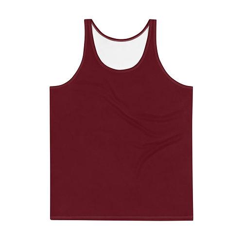 Men's Dark Red Tank Top