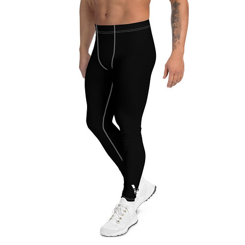 V Men's Leggings Black