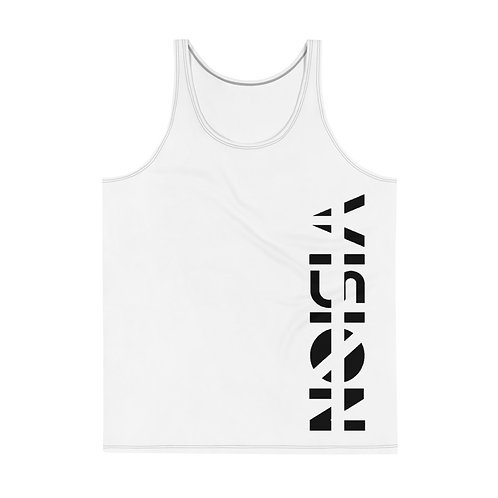 White Vision Mens Tank Top