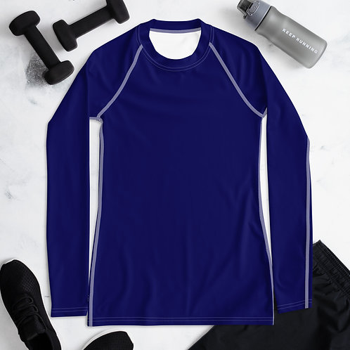 Women's Blue Compression Shirt