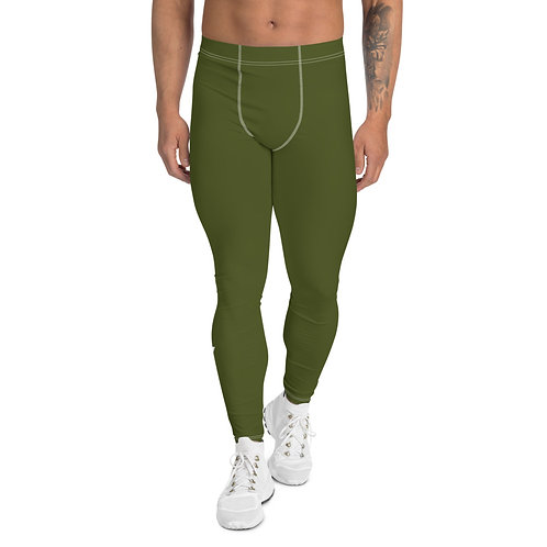 Men's Military Green Leggings