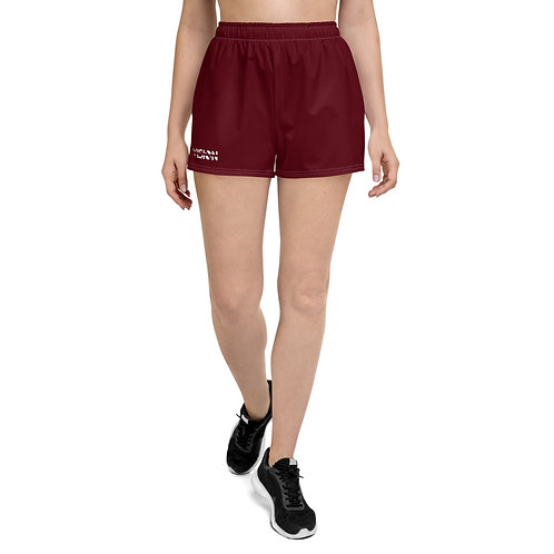 Women's Dark Red Shorts
