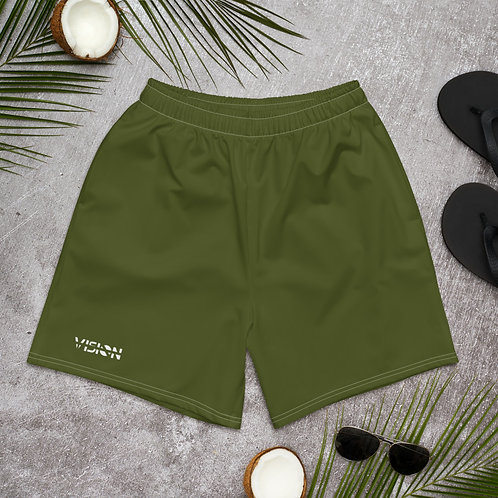Men's Military Green Board Shorts