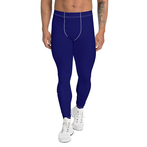 Men's Blue Leggings