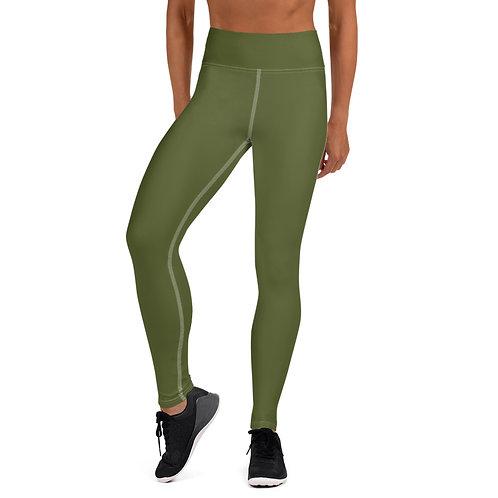 Women's Military Green Leggings