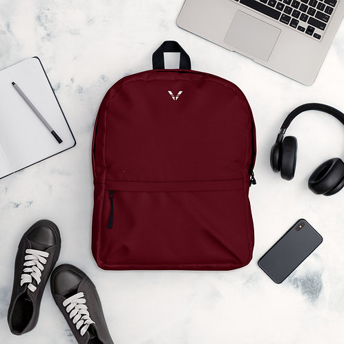 Dark Red Backpack