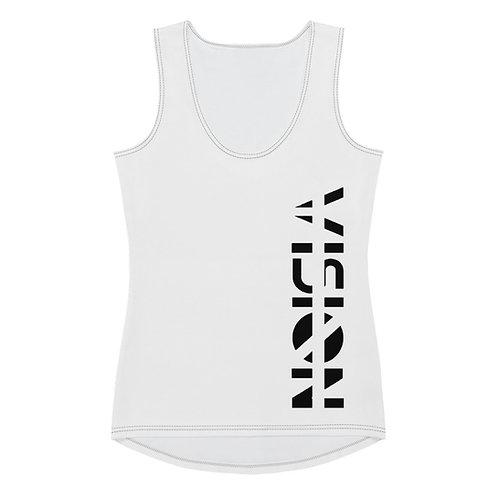 White Vision Womans Tank Top