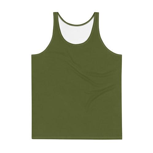 Men's Military Green Tank Top