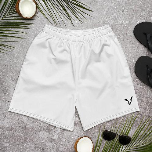 V Mens Shorts White