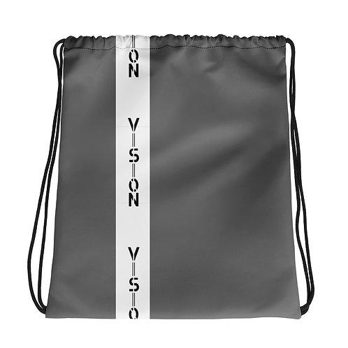 Vision Striped Drawstring Bag